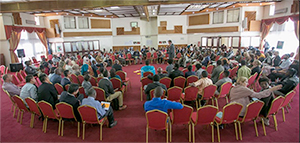 Kenyans hold a dialogue on how best to achieve a balance between conservation and infrastructure development in SGR Phase 2A