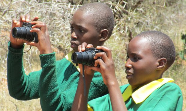 The Kids Twiga Tally: creating young conservation scientists in Kenya