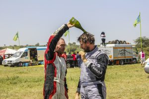 Mayes and Mactavish score sensational Safari Rally podium