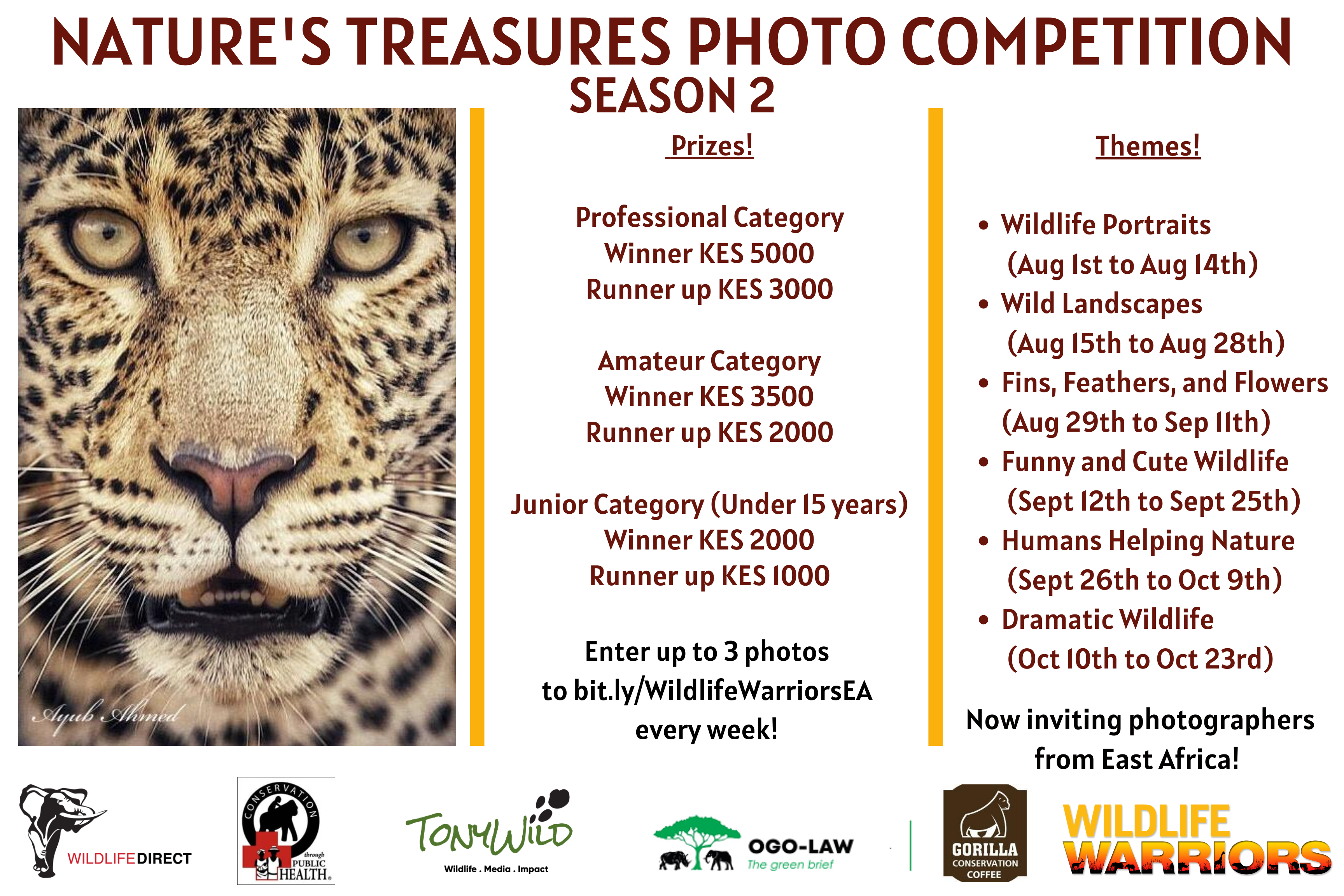 Launch of Season Two of the Nature's Treasures Photo Competition
