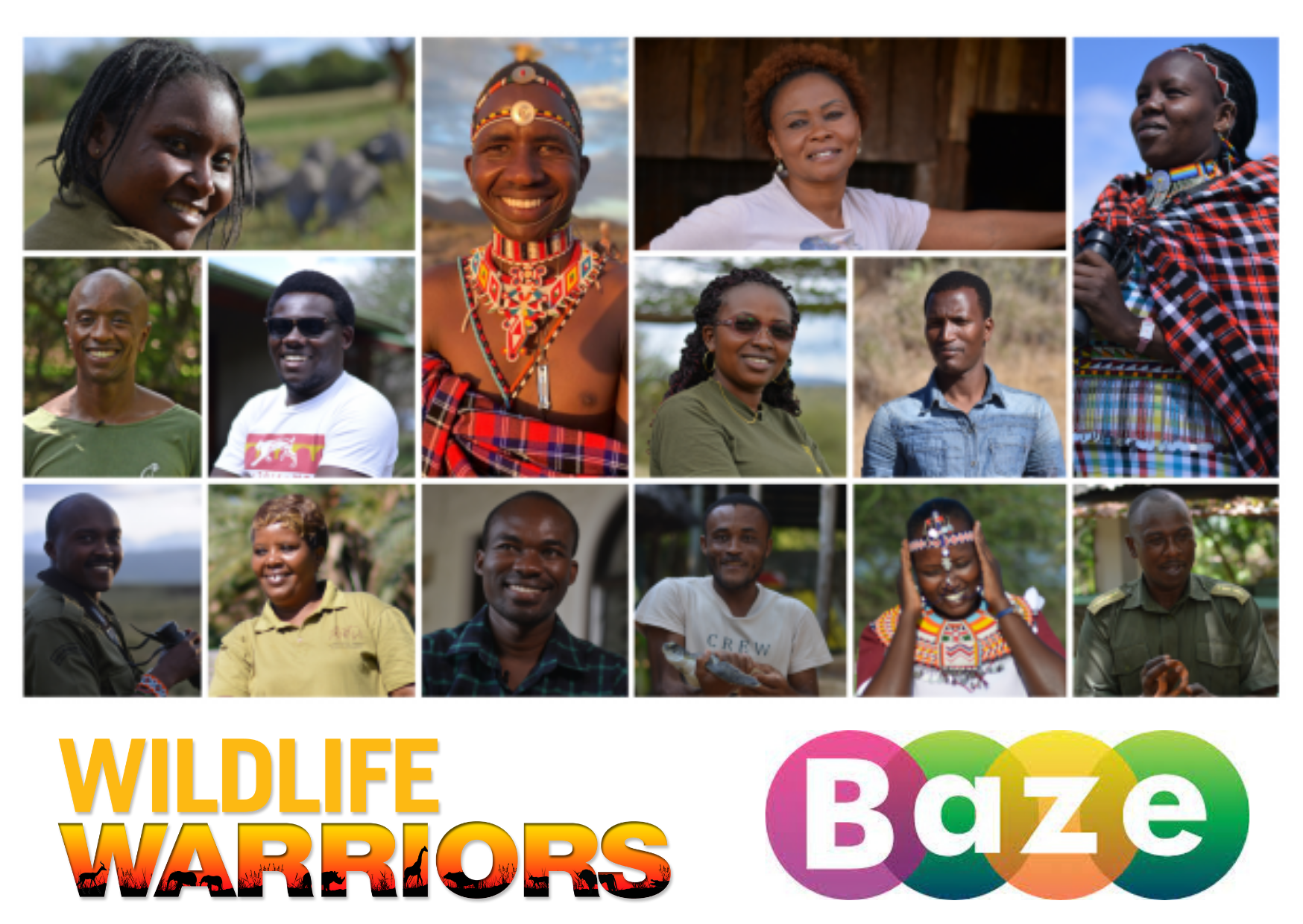 Watch Wildlife Warriors on Baze, the Mobile Video Powered by Safaricom