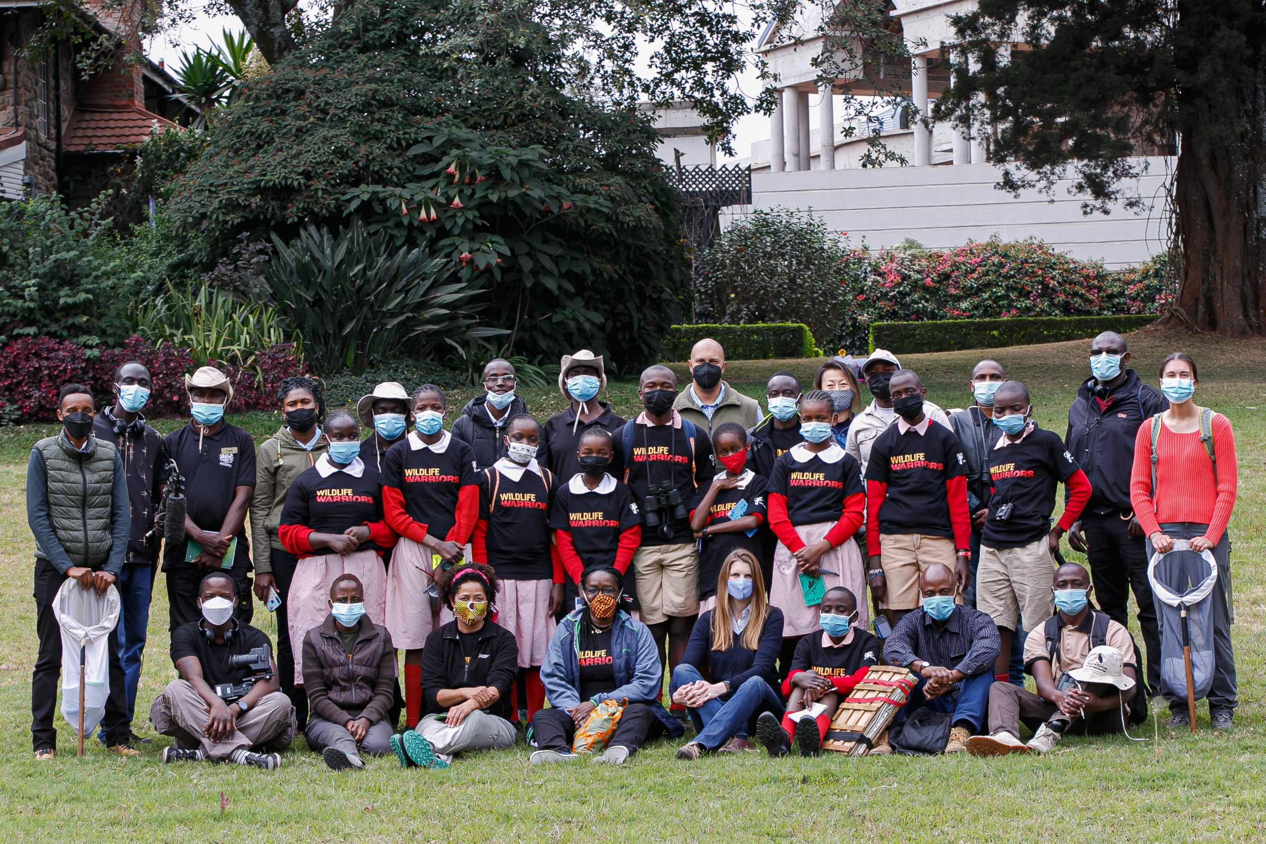 A BioBlitz At The British High Commissioner To Kenya Residence